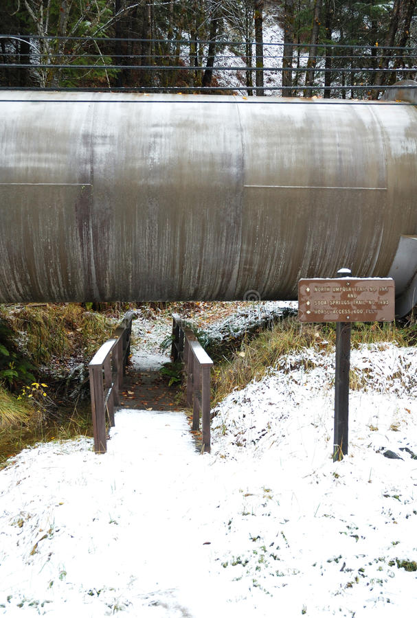 Download Canal da água foto de stock. Imagem de ponte, tempestade - 26515056