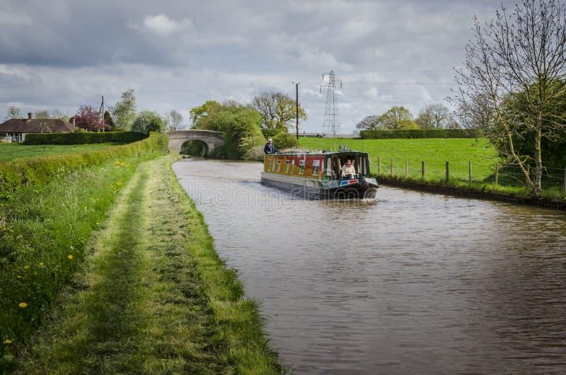 Canal da união de Shropshire imagens de stock