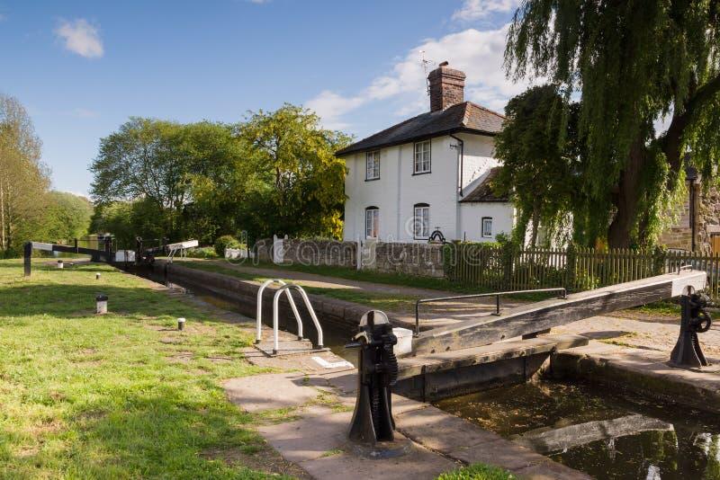 Canal da união de Shropshire imagem de stock royalty free
