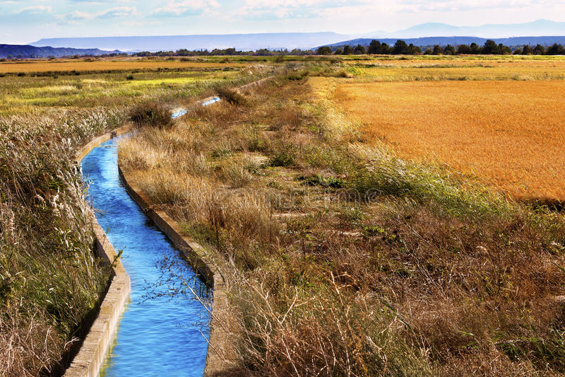 Canal de água fotos de stock royalty free