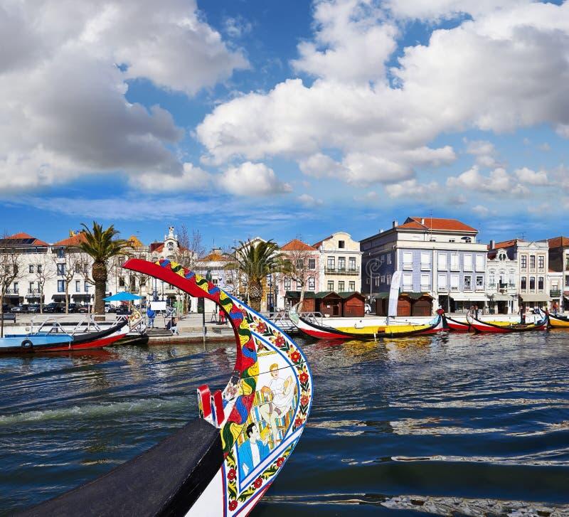 Canal de Aveiro, Portugal fotos de stock royalty free