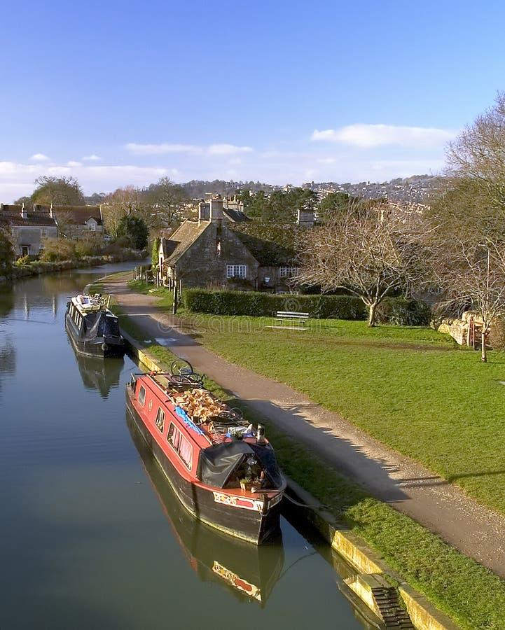 Canal de Bathampton imagenes de archivo