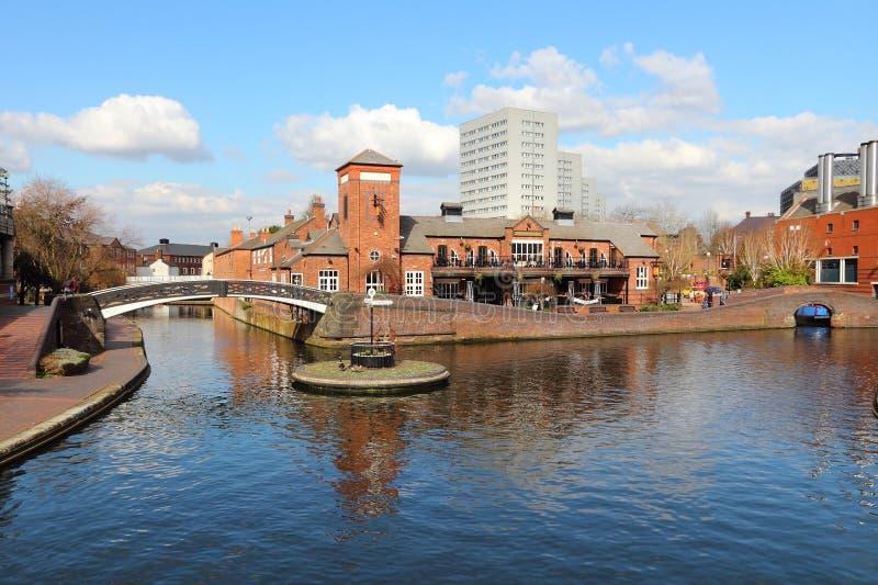Canal de Birmingham imagens de stock royalty free