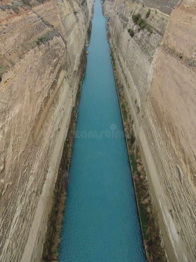 Download Canal de Corinth foto de stock. Imagem de greece, edifícios - 532088
