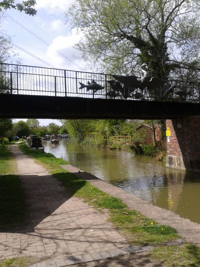 Canal de Coventry images stock