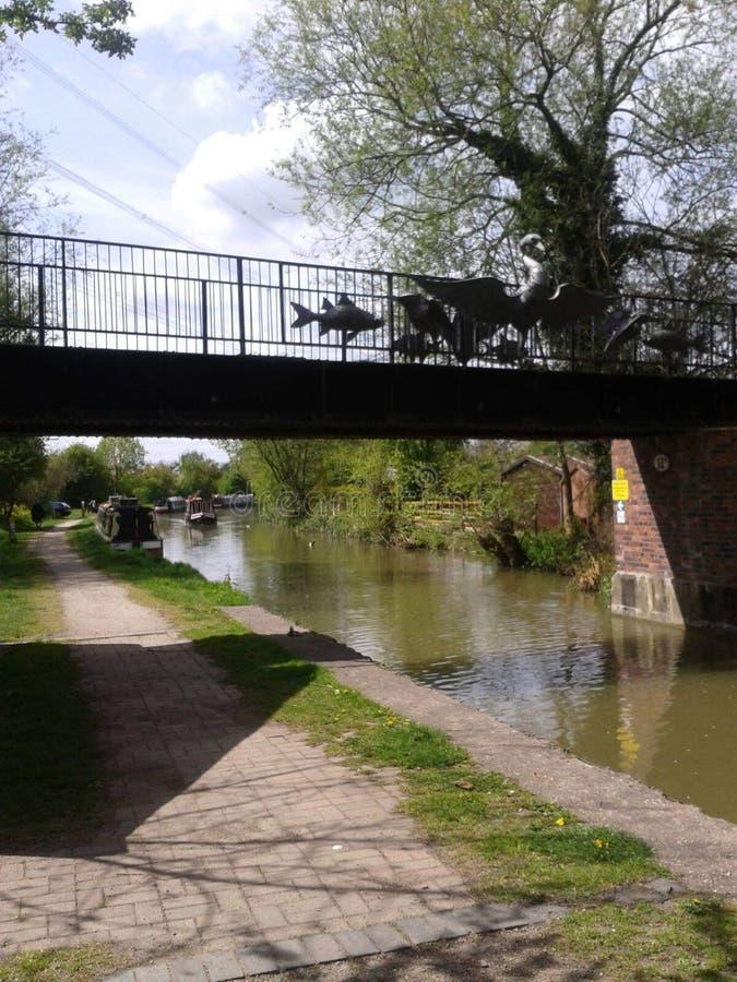 Canal de Coventry imagens de stock