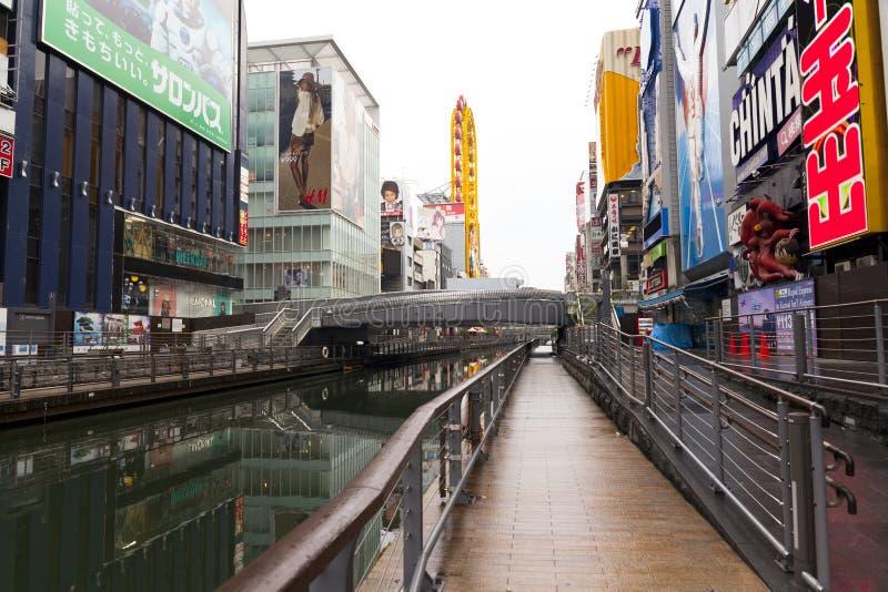 Canal de Dotonbori photo stock