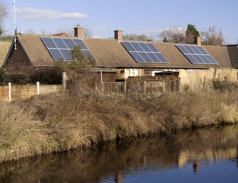 Canal de Droitwich image libre de droits