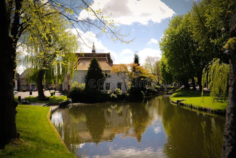 Canal de Edam foto de stock royalty free