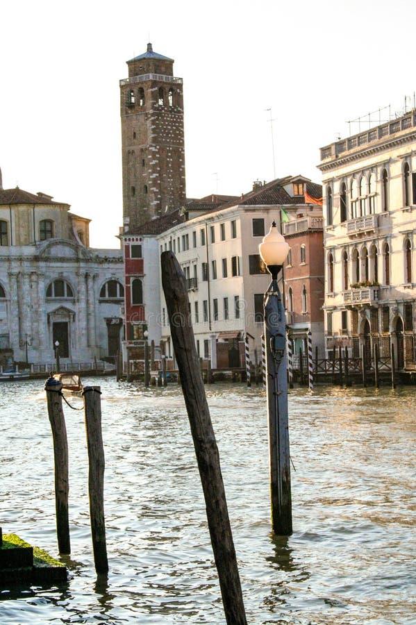 Canal de Gran em Veneza imagens de stock