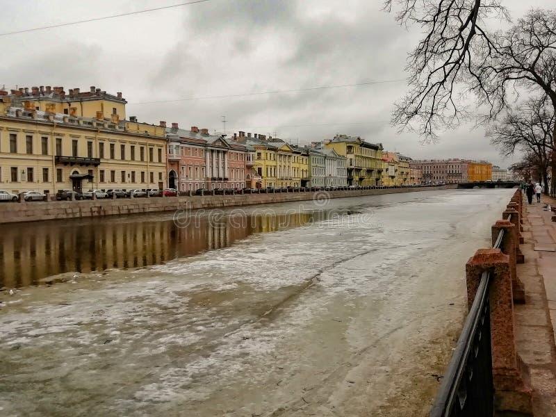 Canal de Griboyedov fotos de stock royalty free