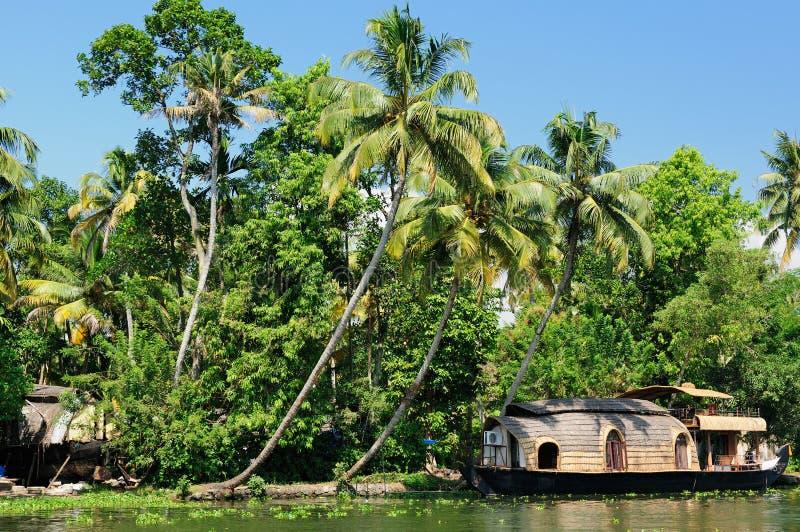 Canal de Kerala fotografía de archivo libre de regalías