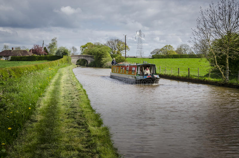 Canal de la unión de Shropshire imagenes de archivo