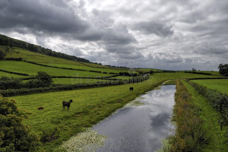 Canal de Lancaster imagem de stock royalty free