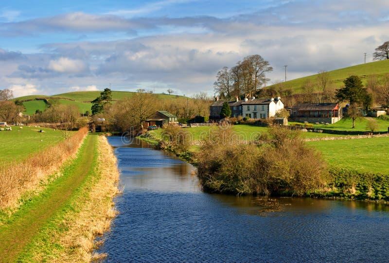 Canal de Lancaster imagens de stock