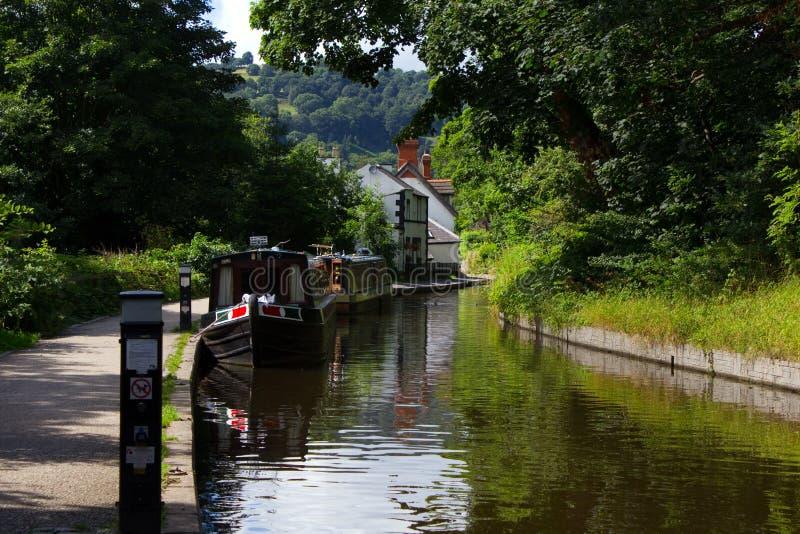 Canal de Llangollen foto de stock royalty free