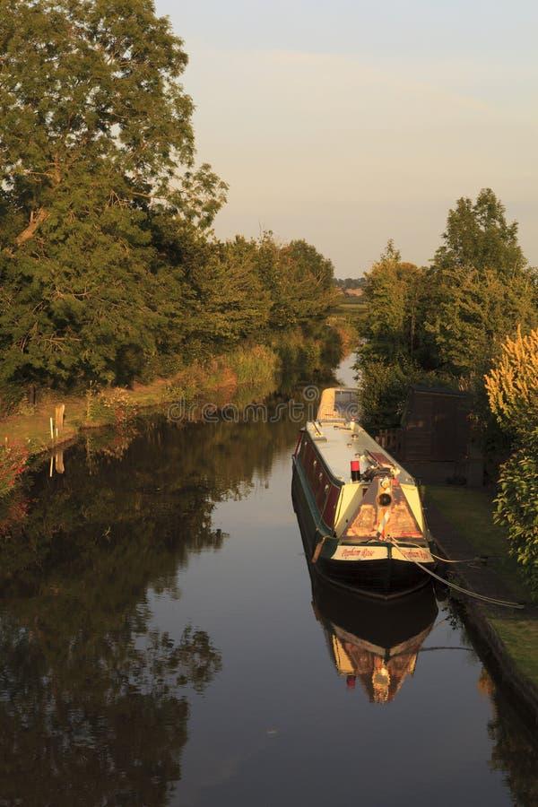 Canal de Llangollen fotografia de stock