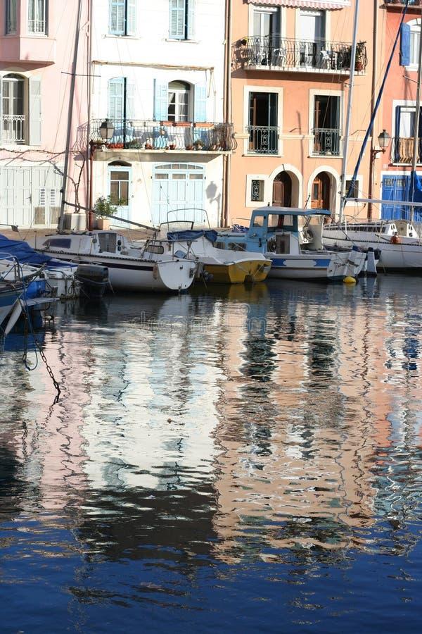 Canal de Martigues images stock