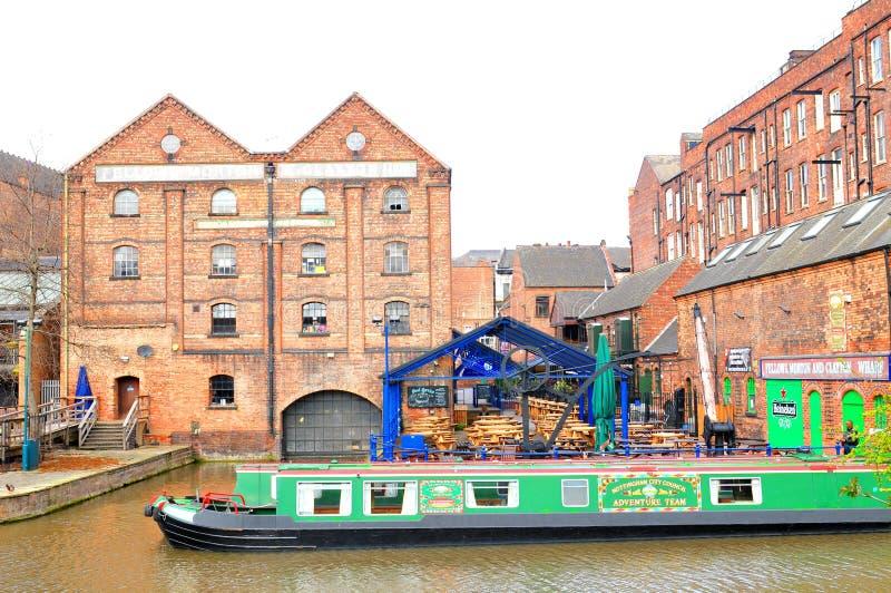 Canal de Nottingham photographie stock libre de droits