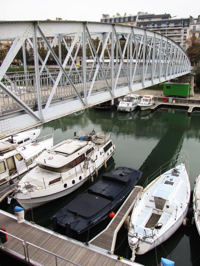 Canal de Paris image stock