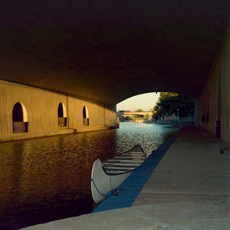 Canal de Rideau imagem de stock