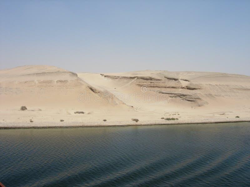 Canal de Suez fotografia de stock royalty free