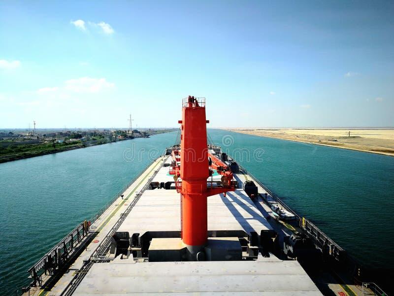 canal de Suez photo libre de droits