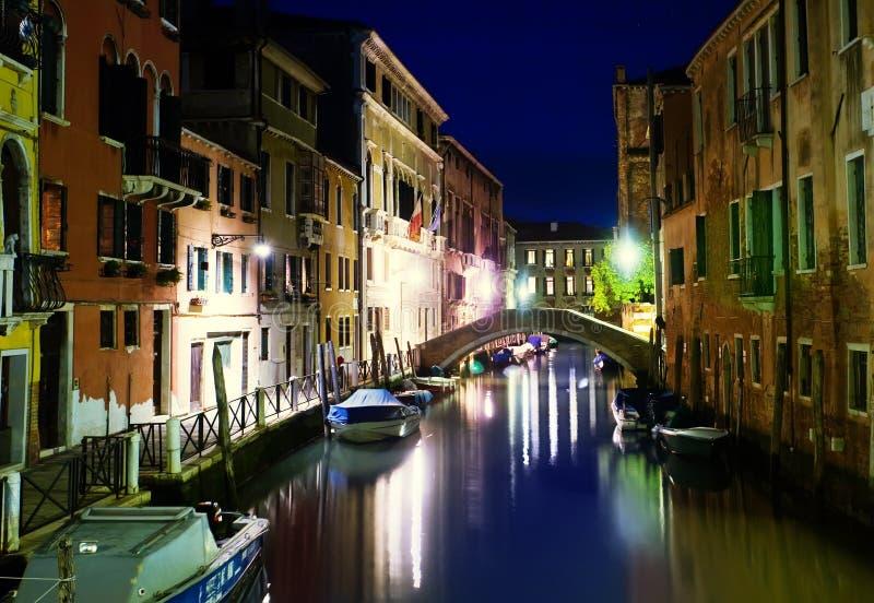 Canal de Venecia, Italia imágenes de archivo libres de regalías