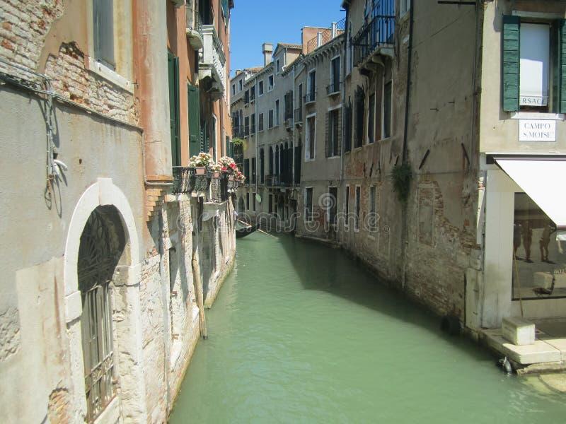 Canal de Venecia - Italia imagen de archivo libre de regalías
