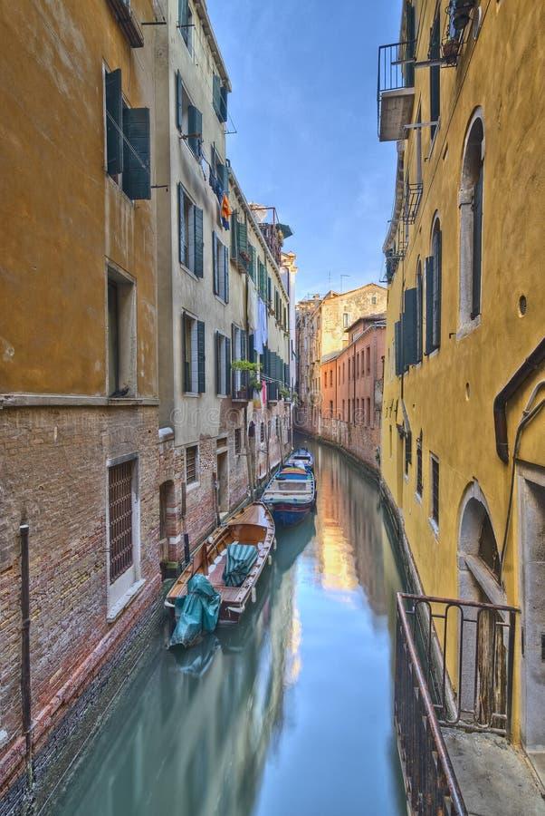 Canal de Veneza fotografia de stock royalty free