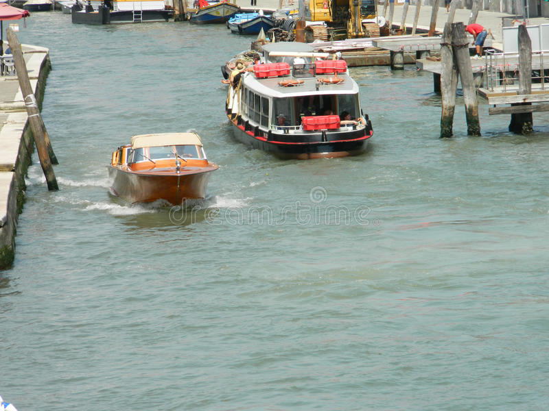 Canal de Veneza grandioso fotos de stock