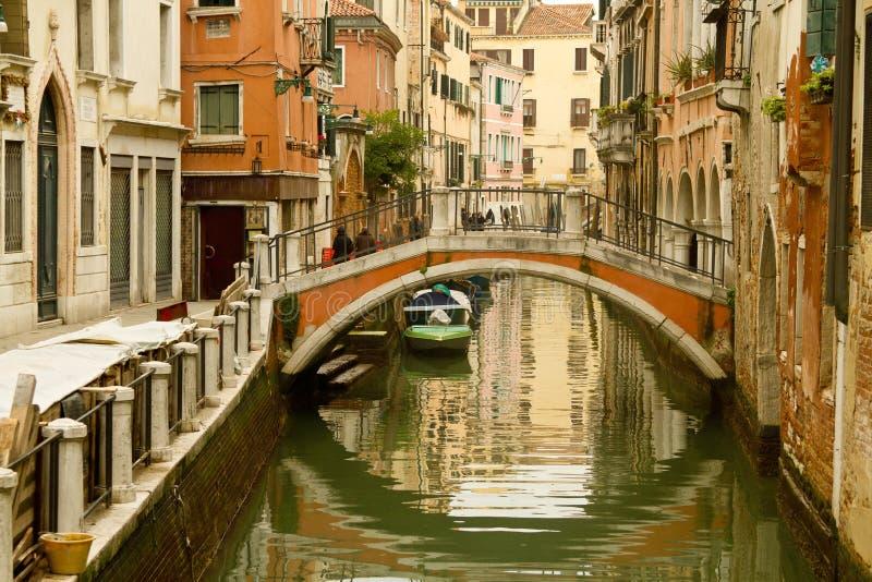 Canal de Venise image libre de droits