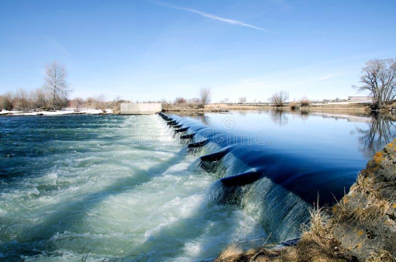 Canal del río fotografía de archivo libre de regalías