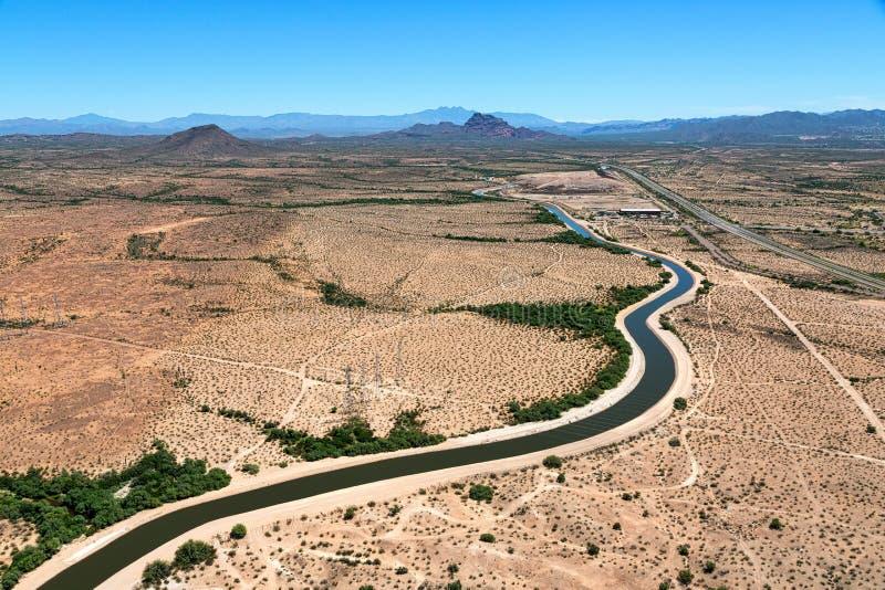 Canal do Arizona imagem de stock