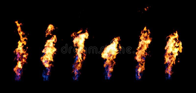 Canal do incêndio foto de stock