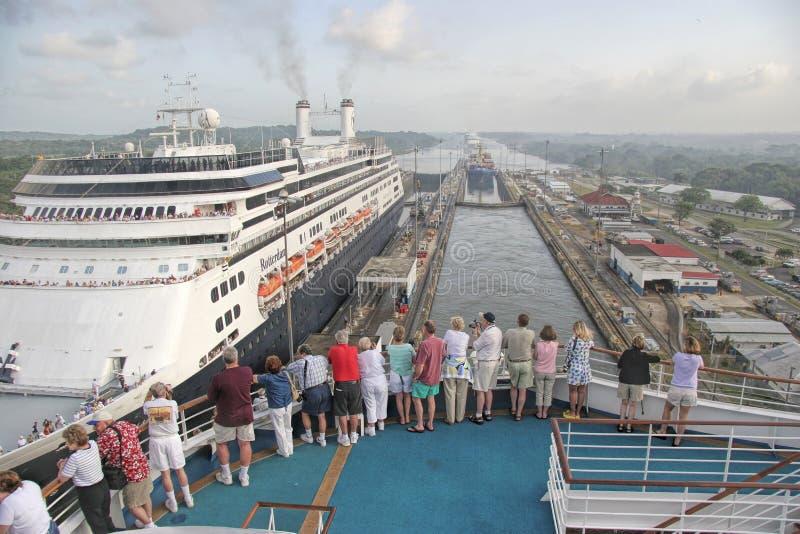 Canal do Panamá fotos de stock