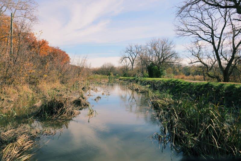 Canal do parque nacional de Cuyahoga imagem de stock royalty free