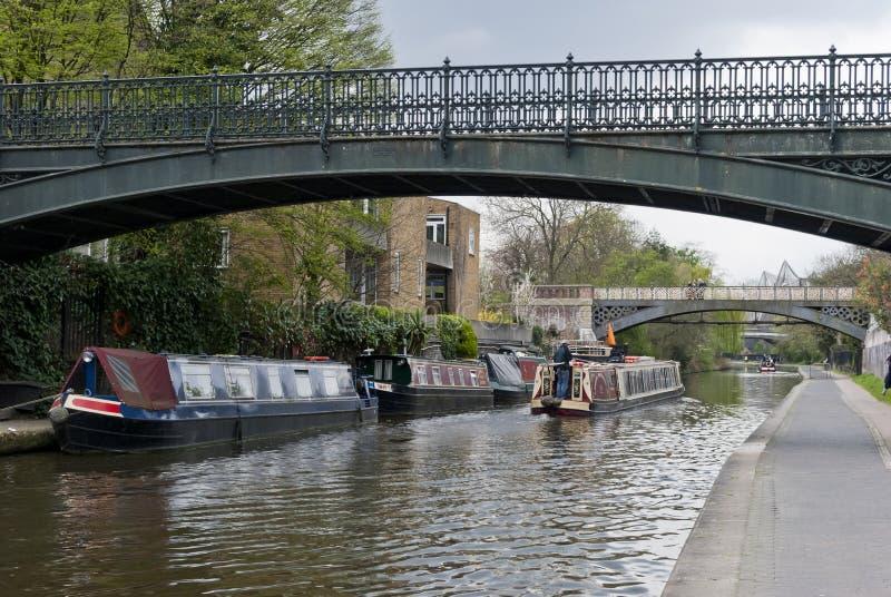 Canal dos regentes, Londres imagens de stock royalty free