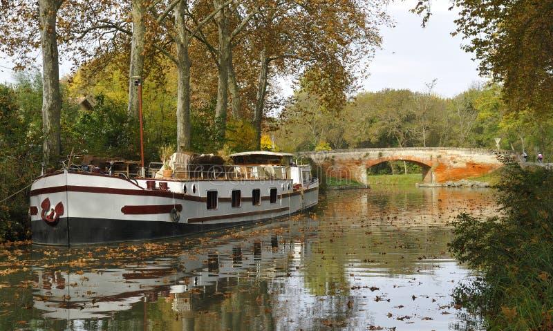 Canal du Midi imágenes de archivo libres de regalías
