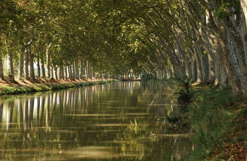 Canal du Midi photos libres de droits