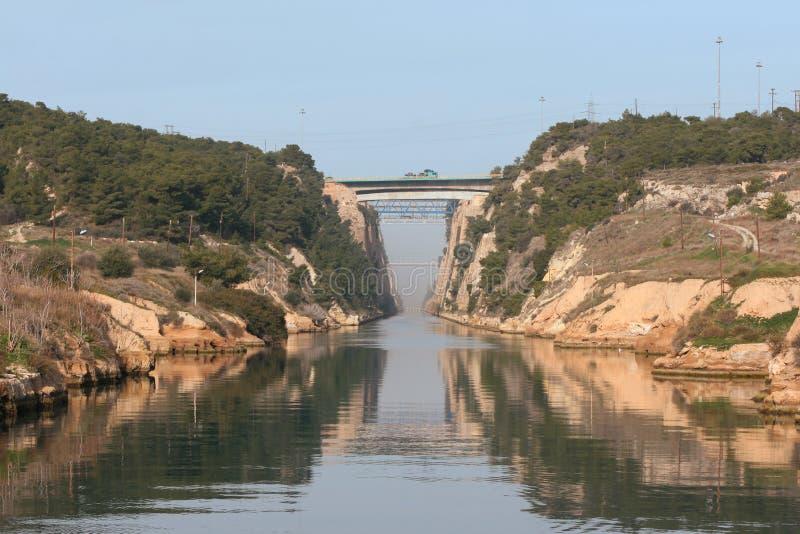 Canal e pontes imagem de stock royalty free