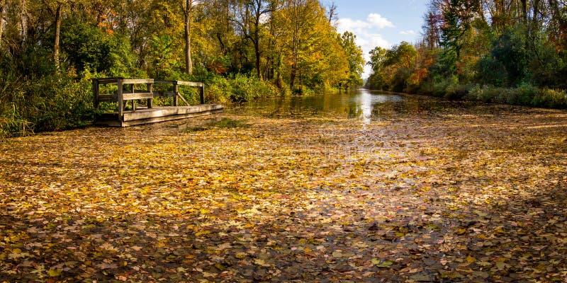 Canal Erie Camillus New York fotos de archivo