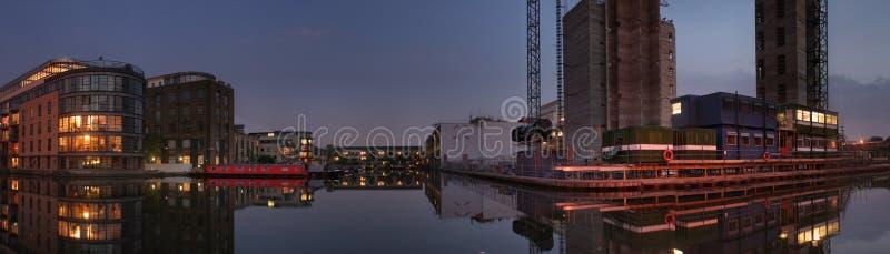 canal evening στοκ φωτογραφίες με δικαίωμα ελεύθερης χρήσης