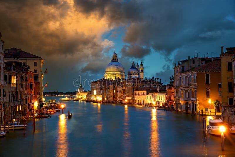 Canal grand à Venise image libre de droits