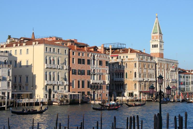 Canal grand à Venise photos libres de droits