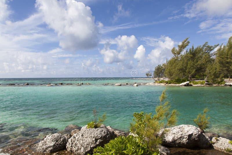 Canal grand de Bahama photo libre de droits