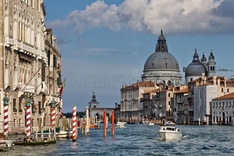 Canal grand de Venise photos libres de droits