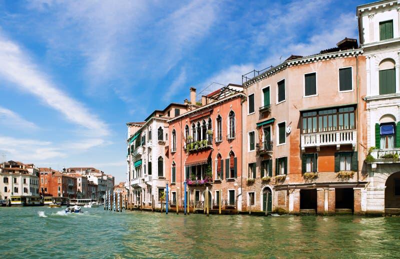 Canal grand de Venise, Italie photographie stock