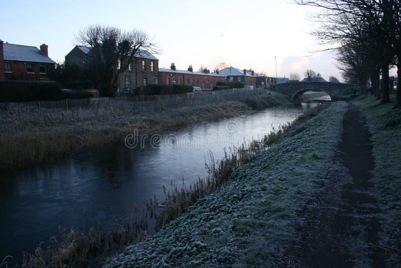 Canal grand, Dublin photographie stock libre de droits