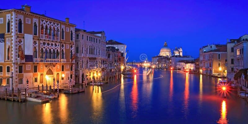Canal grand Venise photos stock